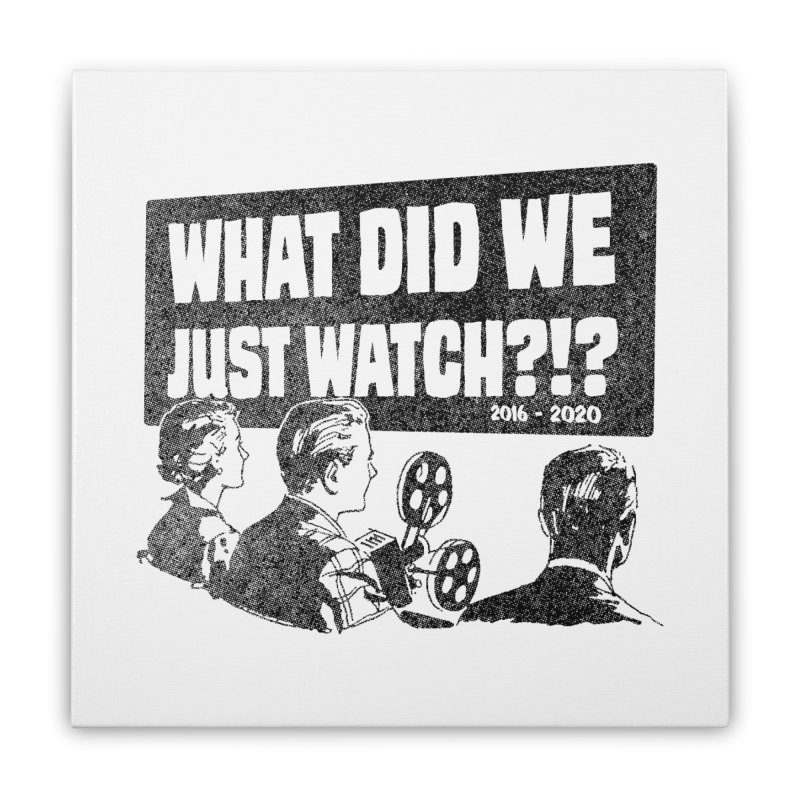 What did we just watch?!? Home Stretched Canvas by Gimetzco's Damaged Goods