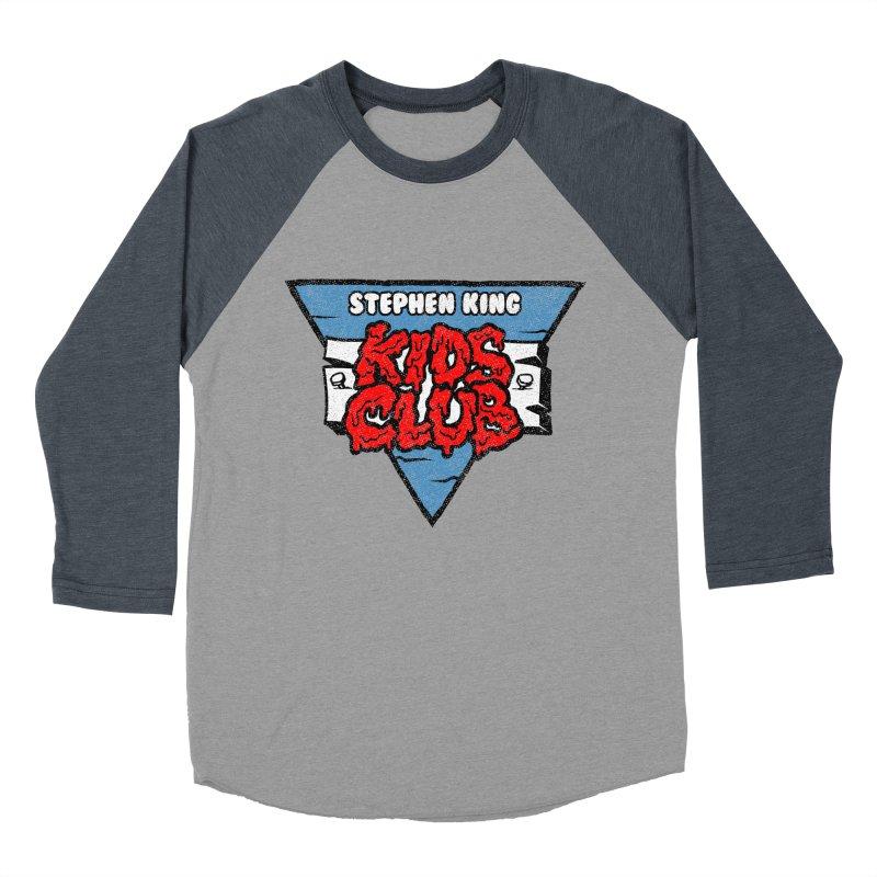 Stephen King Kids Club Women's Baseball Triblend T-Shirt by Gimetzco's Artist Shop