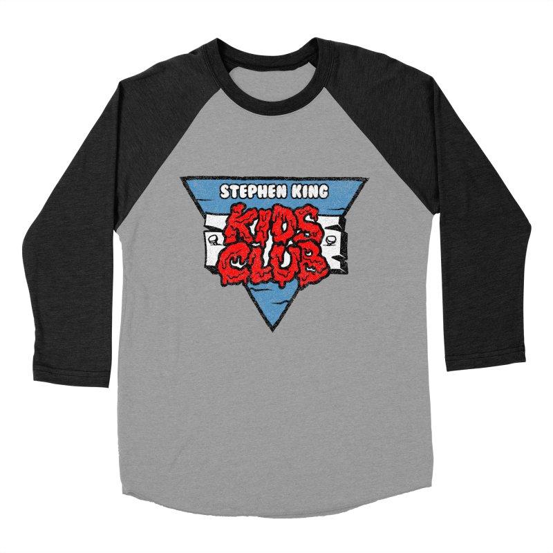 Stephen King Kids Club Men's Baseball Triblend T-Shirt by Gimetzco's Artist Shop