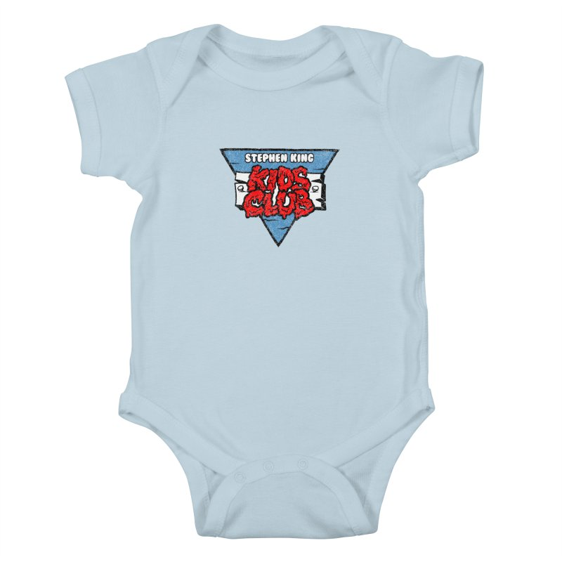 Stephen King Kids Club Kids Baby Bodysuit by Gimetzco's Damaged Goods