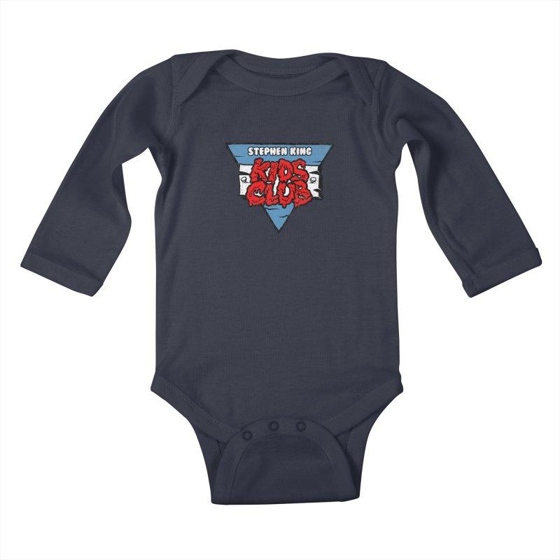 Stephen King Kids Club Kids Baby Longsleeve Bodysuit by Gimetzco's Damaged Goods
