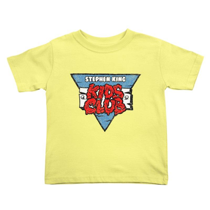 Stephen King Kids Club Kids Toddler T-Shirt by Gimetzco's Artist Shop