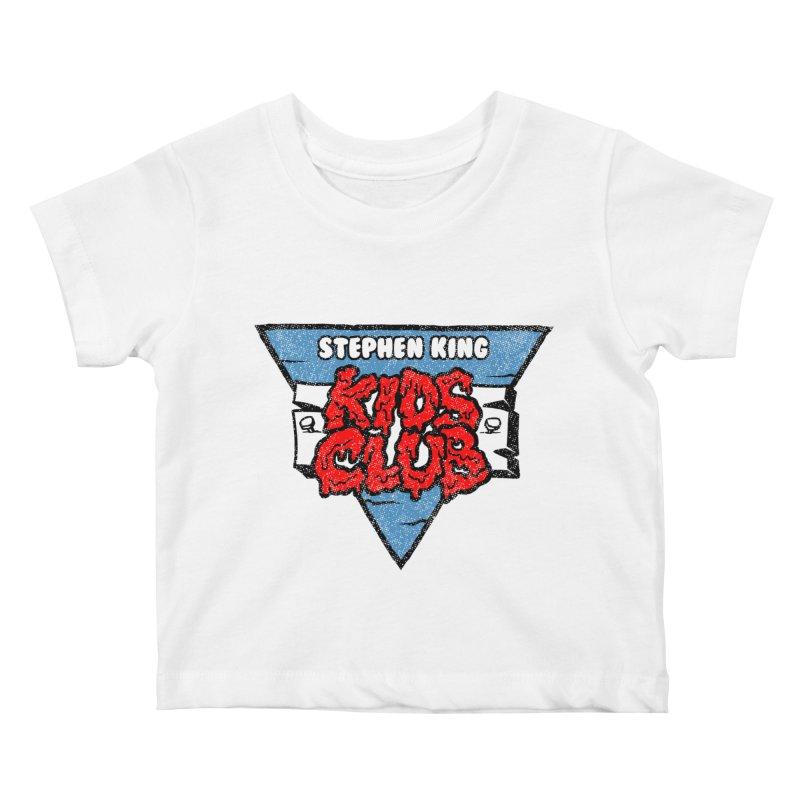 Stephen King Kids Club Kids Baby T-Shirt by Gimetzco's Damaged Goods