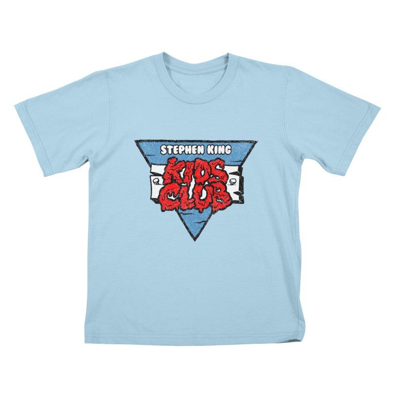 Stephen King Kids Club Kids T-Shirt by Gimetzco's Damaged Goods