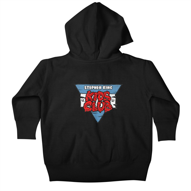 Stephen King Kids Club Kids Baby Zip-Up Hoody by Gimetzco's Artist Shop