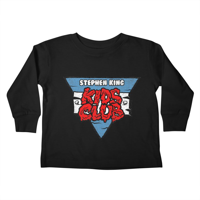Stephen King Kids Club Kids Toddler Longsleeve T-Shirt by Gimetzco's Damaged Goods