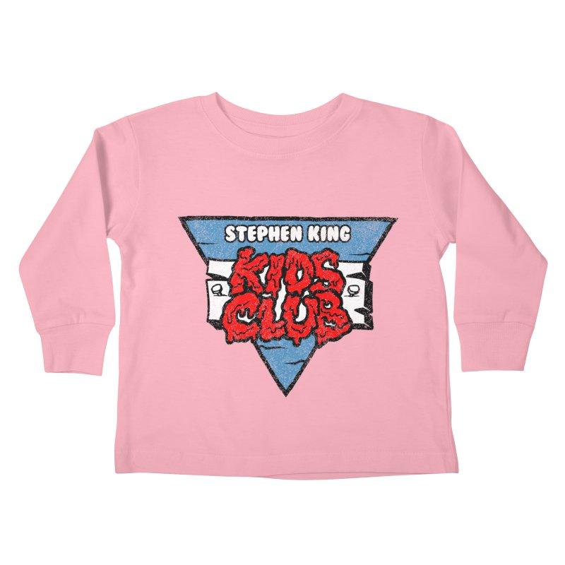 Stephen King Kids Club Kids Toddler Longsleeve T-Shirt by Gimetzco's Artist Shop