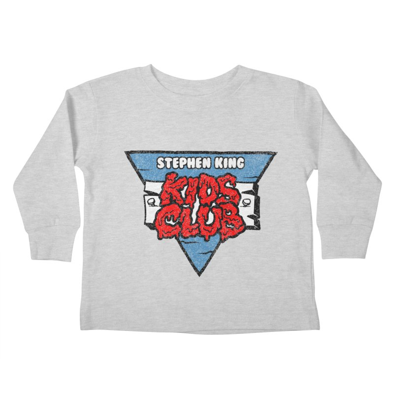 Stephen King Kids Club Kids Toddler Longsleeve T-Shirt by Gimetzco's Artist Shop