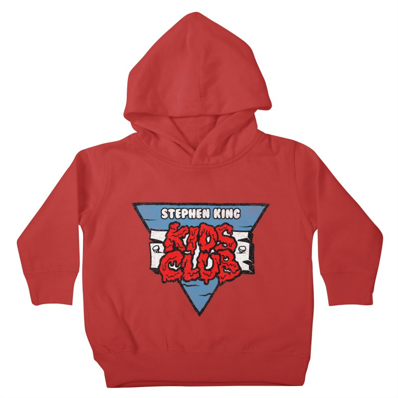 Stephen King Kids Club Kids Toddler Pullover Hoody by Gimetzco's Damaged Goods