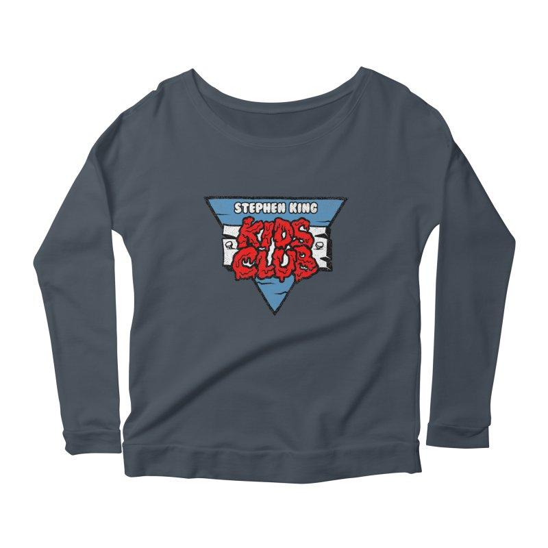 Stephen King Kids Club Women's Longsleeve Scoopneck  by Gimetzco's Artist Shop