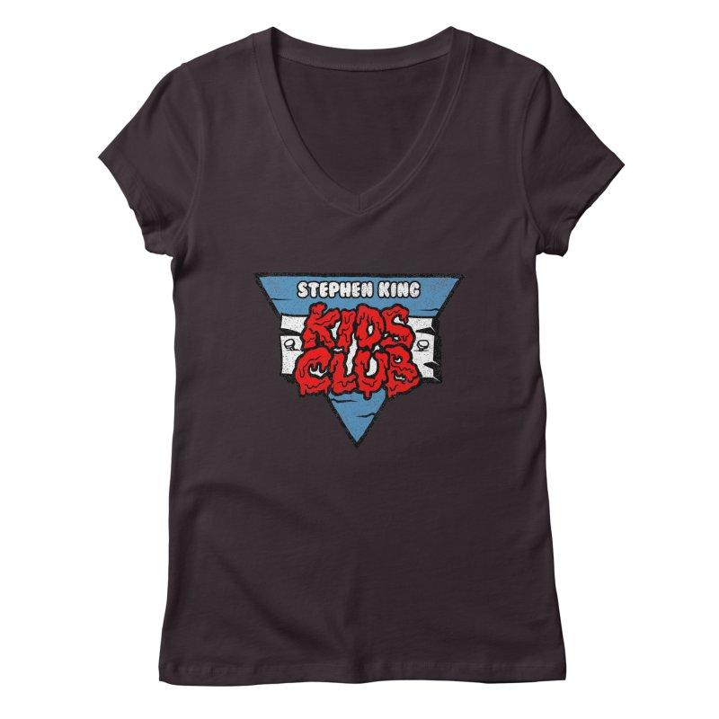 Stephen King Kids Club Women's V-Neck by Gimetzco's Artist Shop