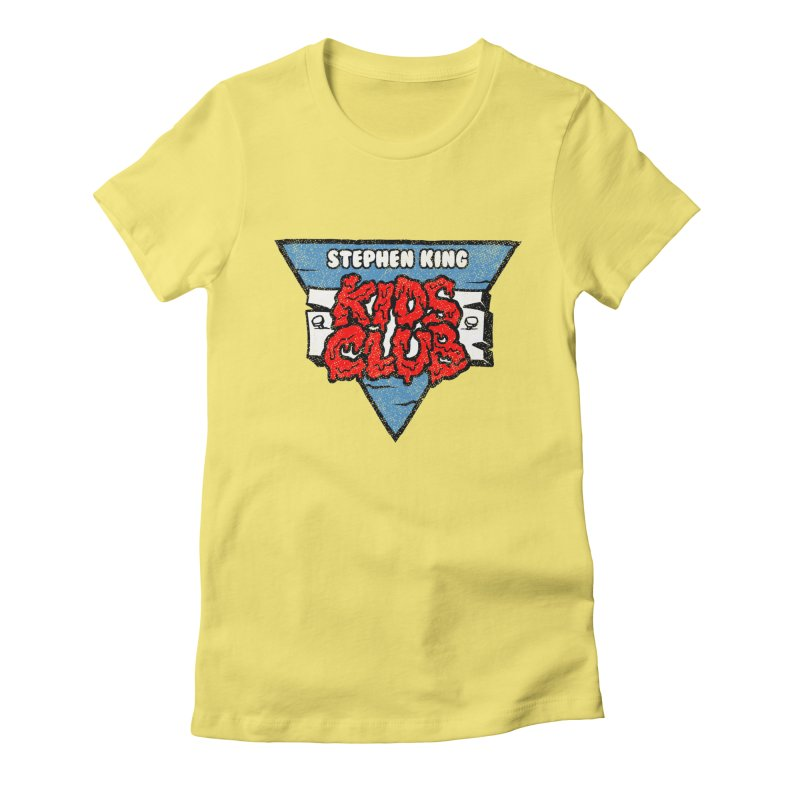 Stephen King Kids Club Women's Fitted T-Shirt by Gimetzco's Artist Shop