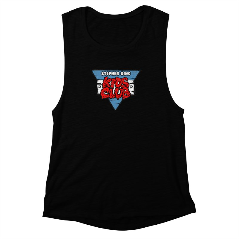 Stephen King Kids Club Women's Muscle Tank by Gimetzco's Artist Shop