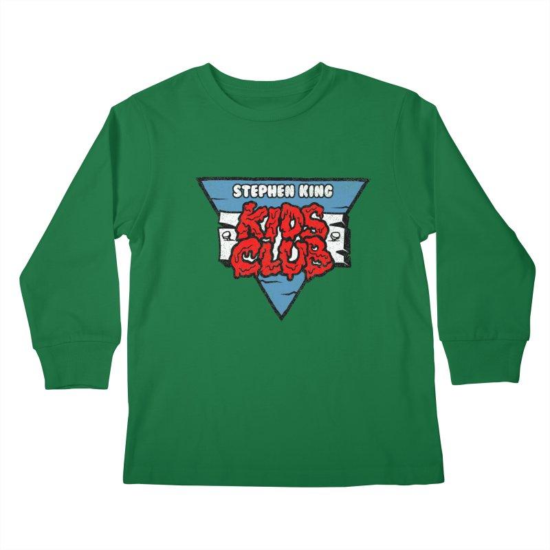 Stephen King Kids Club Kids Longsleeve T-Shirt by Gimetzco's Damaged Goods