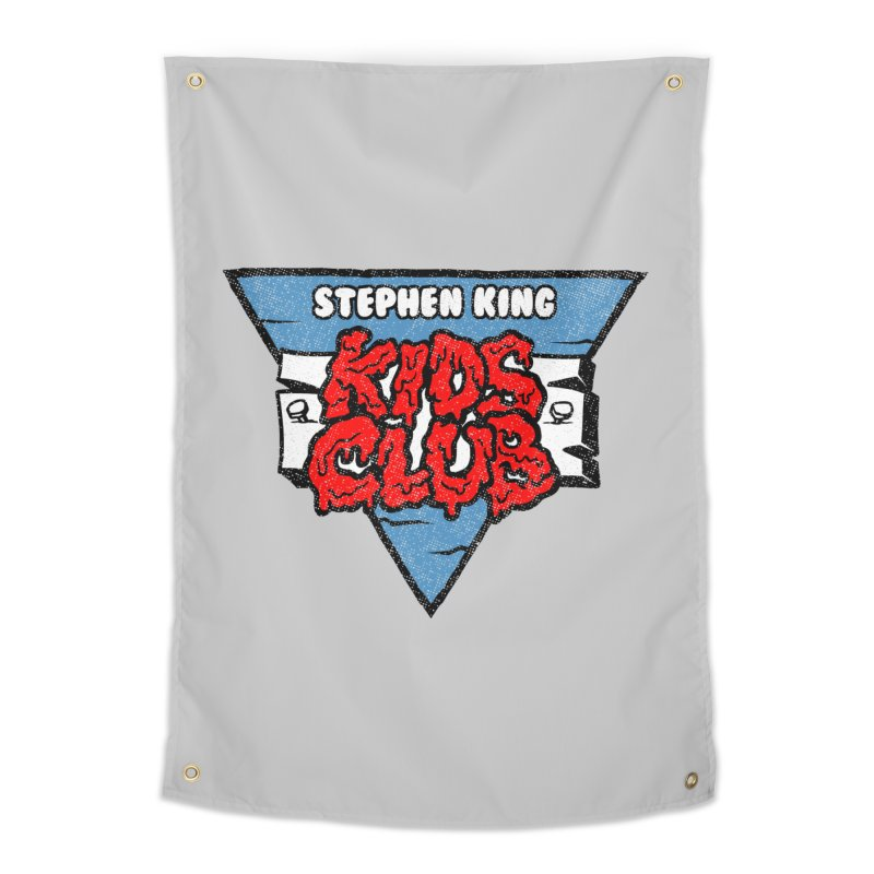 Stephen King Kids Club Home Tapestry by Gimetzco's Damaged Goods