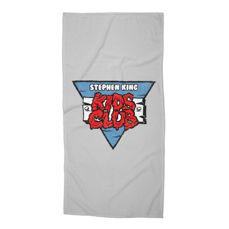 Stephen King Kids Club Accessories Beach Towel by Gimetzco's Damaged Goods