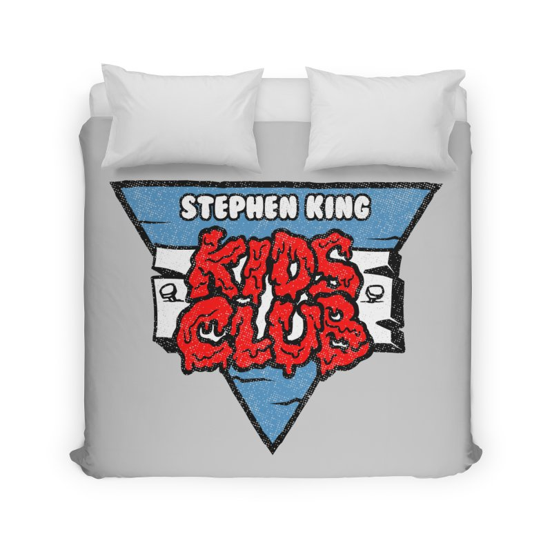 Stephen King Kids Club Home Duvet by Gimetzco's Damaged Goods