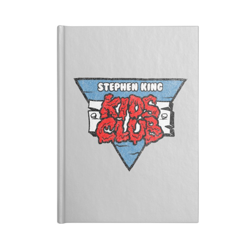 Stephen King Kids Club Accessories Notebook by Gimetzco's Artist Shop