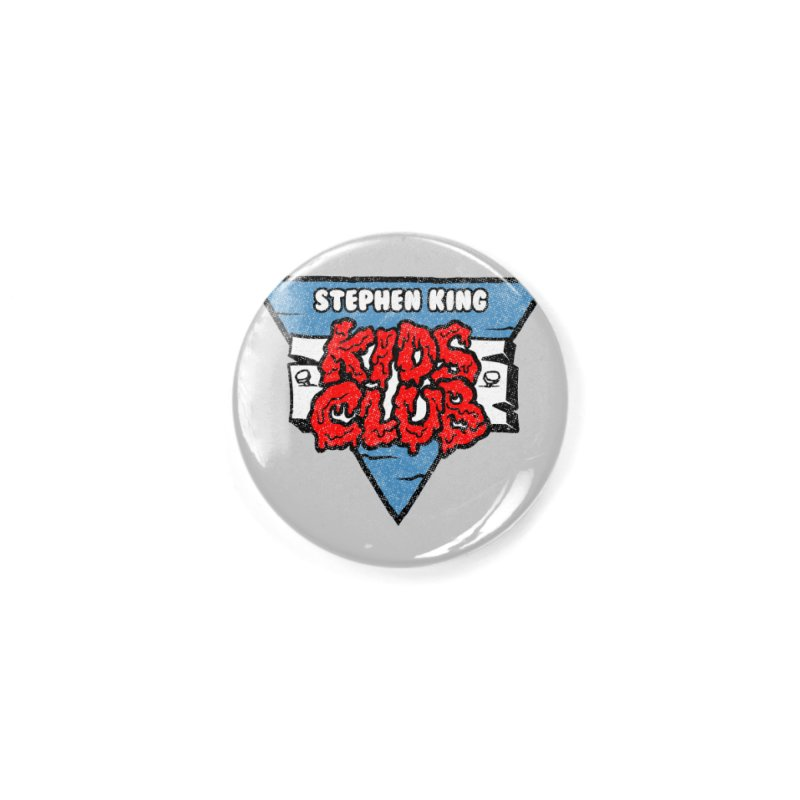 Stephen King Kids Club Accessories Button by Gimetzco's Damaged Goods