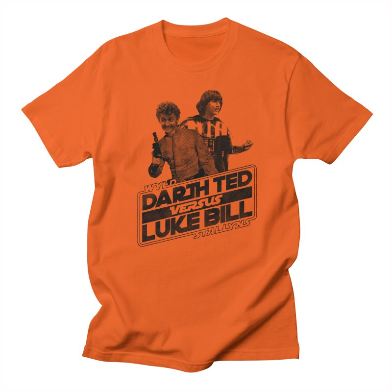 Darth Ted vs Luke Bill Men's T-Shirt by Gimetzco's Damaged Goods