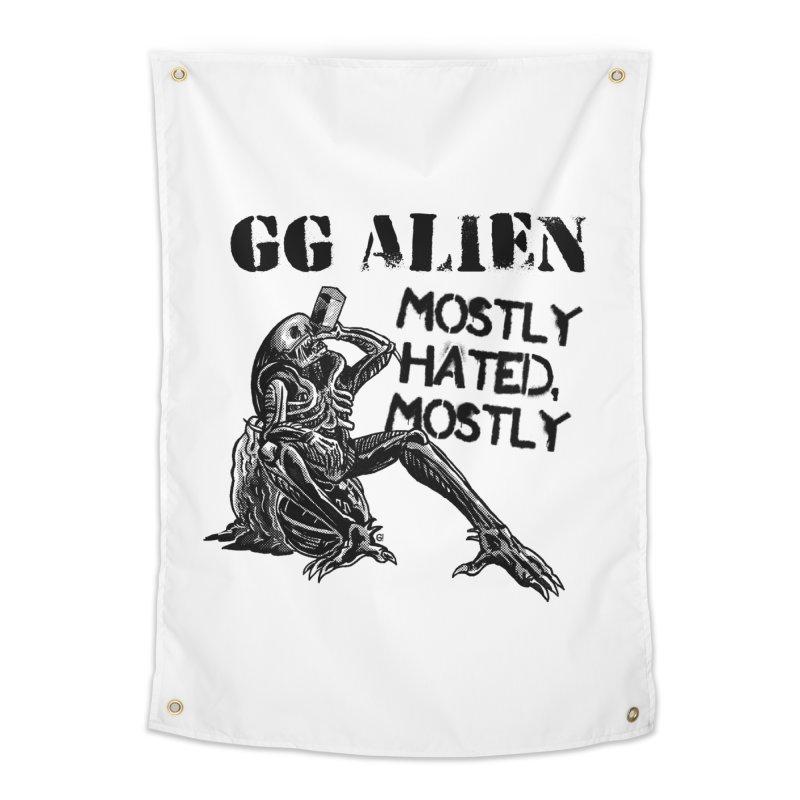 GG ALIEN (light) Home Tapestry by Gimetzco's Damaged Goods