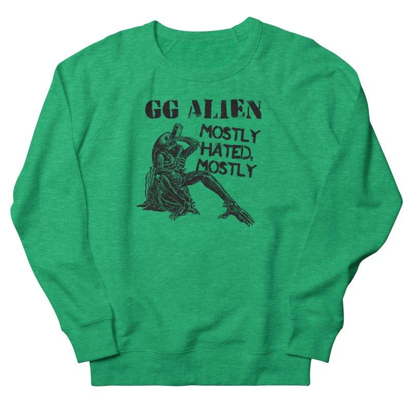 GG ALIEN (light) Women's Sweatshirt by Gimetzco's Damaged Goods