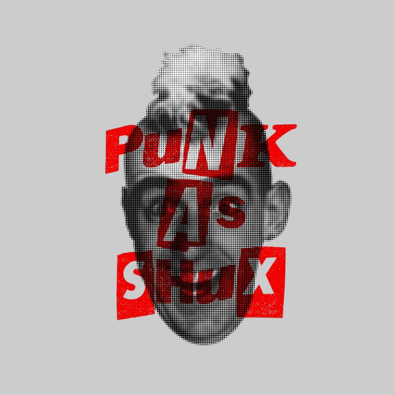 Punk as Shux (Gomer) Men's T-Shirt by Gimetzco's Damaged Goods