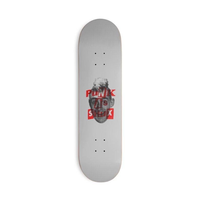 Punk as Shux (Gomer) Accessories Skateboard by Gimetzco's Damaged Goods