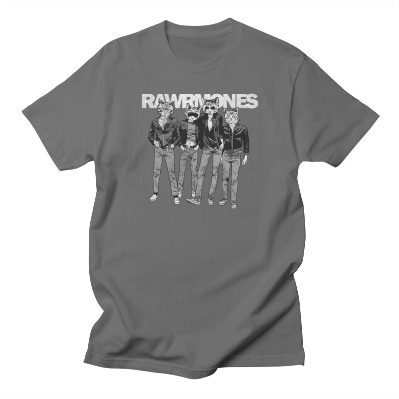 Rawrmones (original) Men's T-Shirt by Gimetzco's Damaged Goods