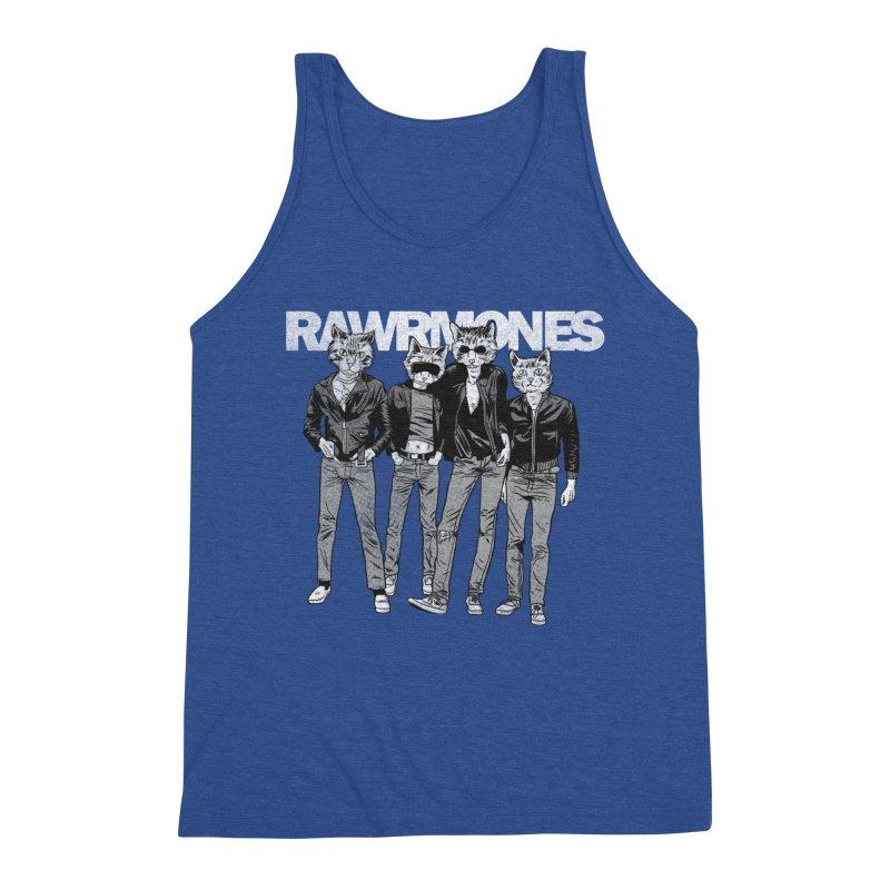 Rawrmones (original) Men's Tank by Gimetzco's Damaged Goods