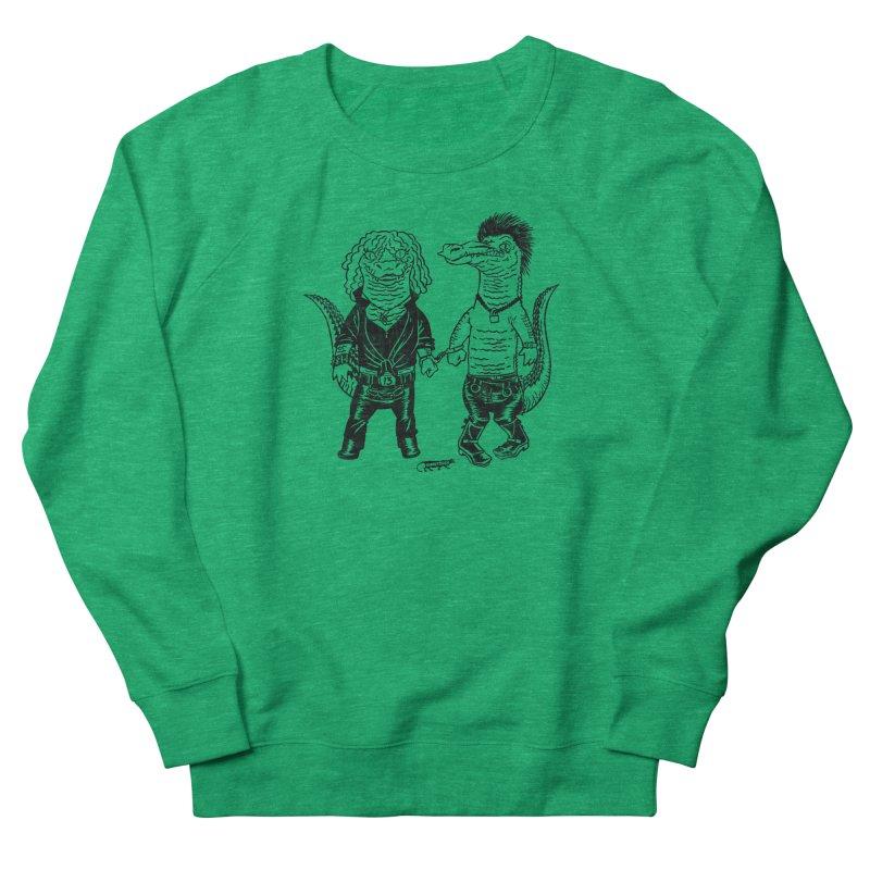 Pun Croc Women's Sweatshirt by Gimetzco's Damaged Goods