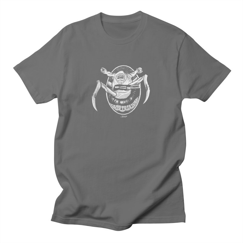 God save the THING Men's T-Shirt by Gimetzco's Damaged Goods