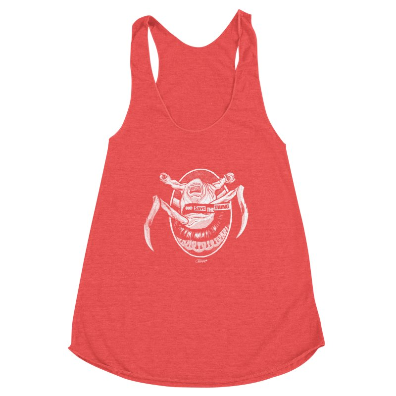 God save the THING Women's Tank by Gimetzco's Damaged Goods
