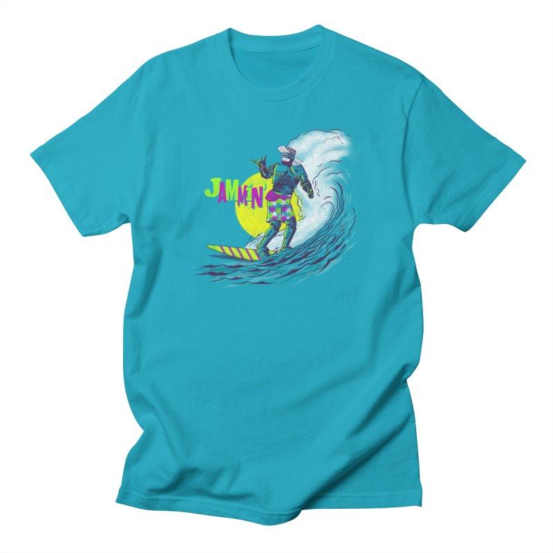 Surf Detroit Men's T-Shirt by Gimetzco's Damaged Goods