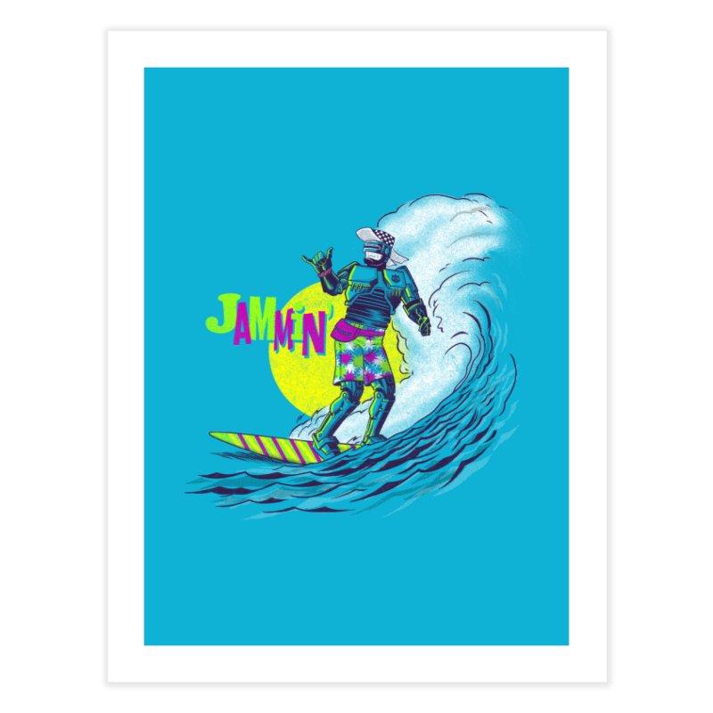 Surf Detroit Home Fine Art Print by Gimetzco's Damaged Goods