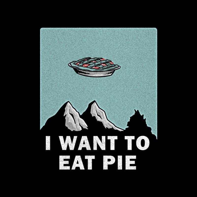 I want to eat pie Home Tapestry by Gimetzco's Damaged Goods