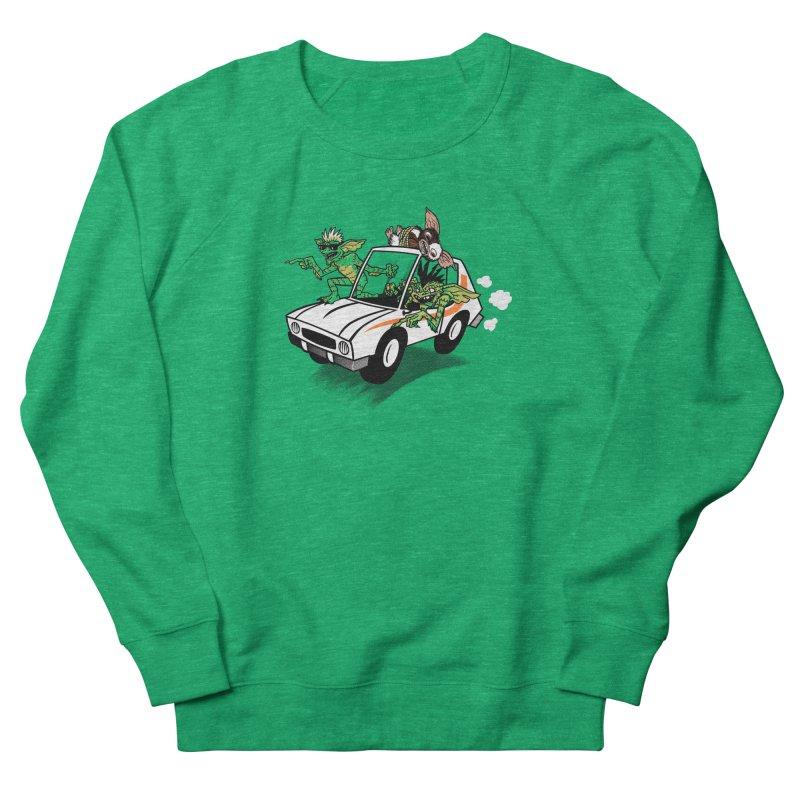 Gremlins in a gremlin Women's Sweatshirt by Gimetzco's Damaged Goods
