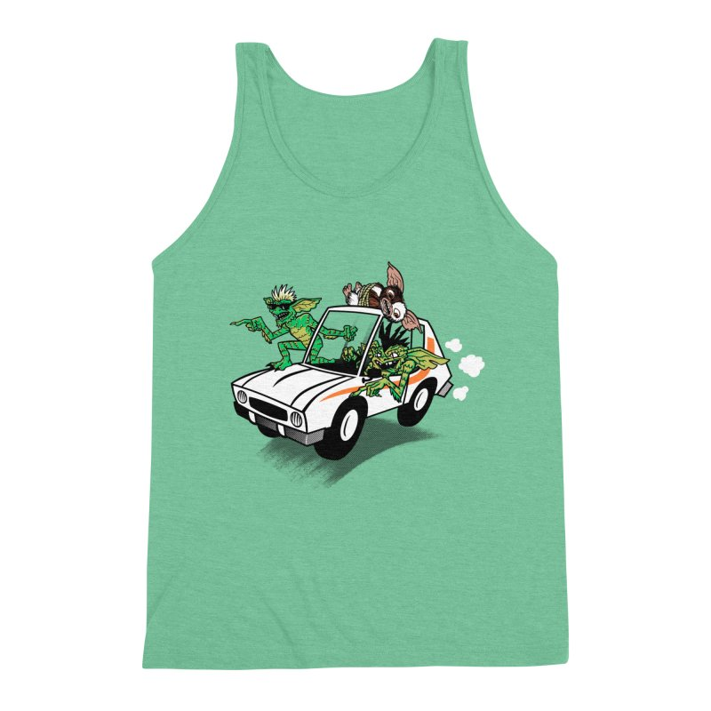 Gremlins in a gremlin Men's Tank by Gimetzco's Damaged Goods