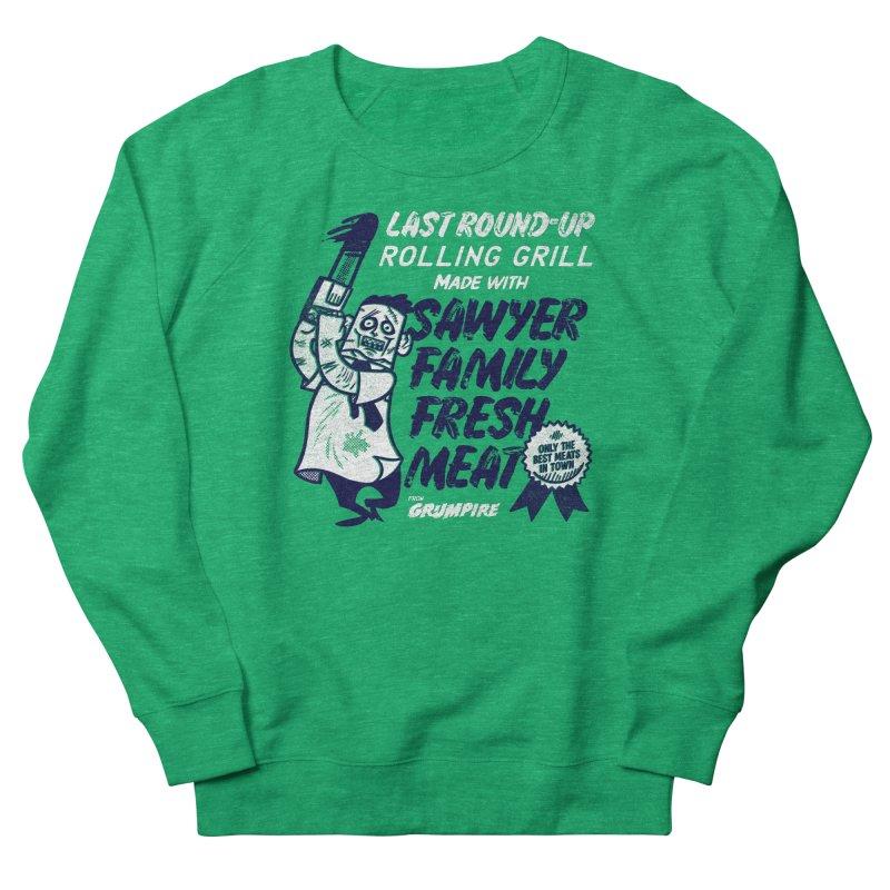 Sawyer family fresh meat Women's Sweatshirt by Gimetzco's Damaged Goods