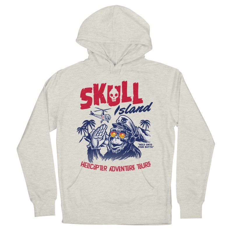 Skull Island Helicopter Adventure Tours Men's Pullover Hoody by Gimetzco's Artist Shop