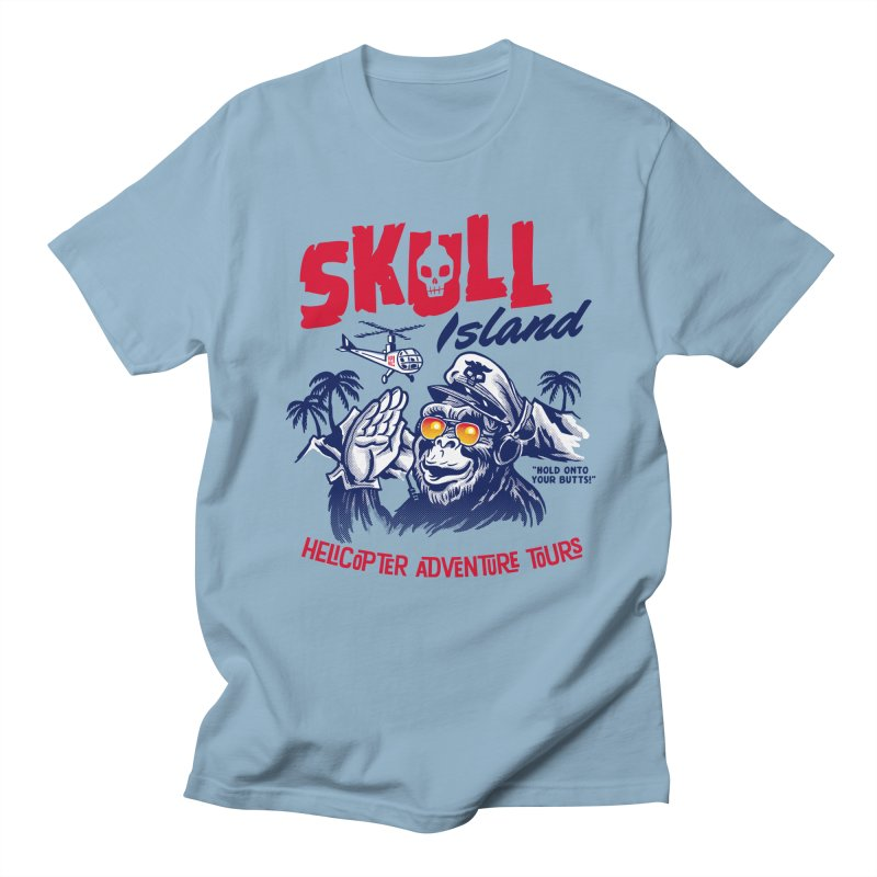 Skull Island Helicopter Adventure Tours Women's Unisex T-Shirt by Gimetzco's Artist Shop