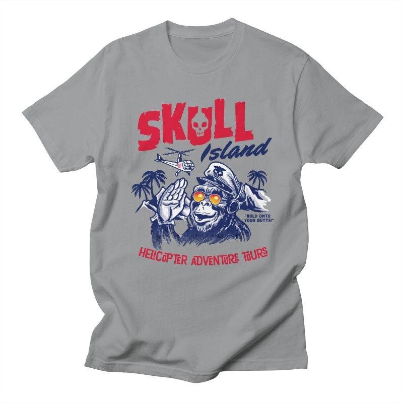Skull Island Helicopter Adventure Tours Women's Unisex T-Shirt by Gimetzco's Artist Shop