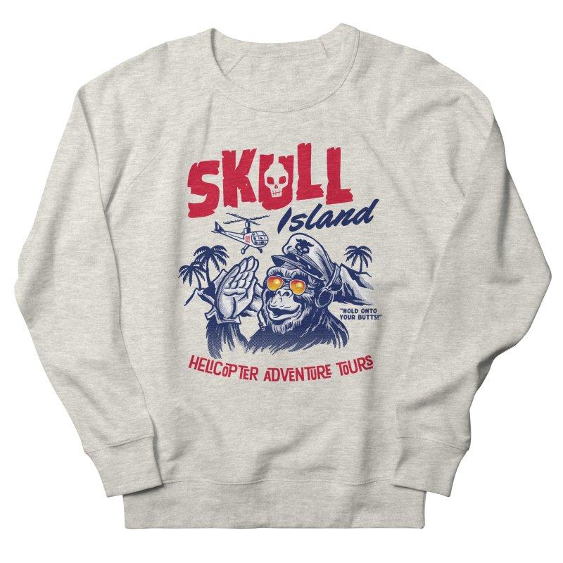 Skull Island Helicopter Adventure Tours Men's Sweatshirt by Gimetzco's Artist Shop