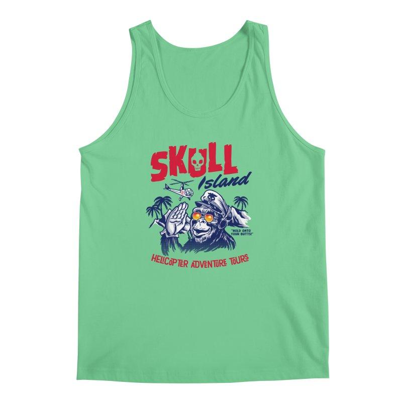 Skull Island Helicopter Adventure Tours Men's Tank by Gimetzco's Artist Shop