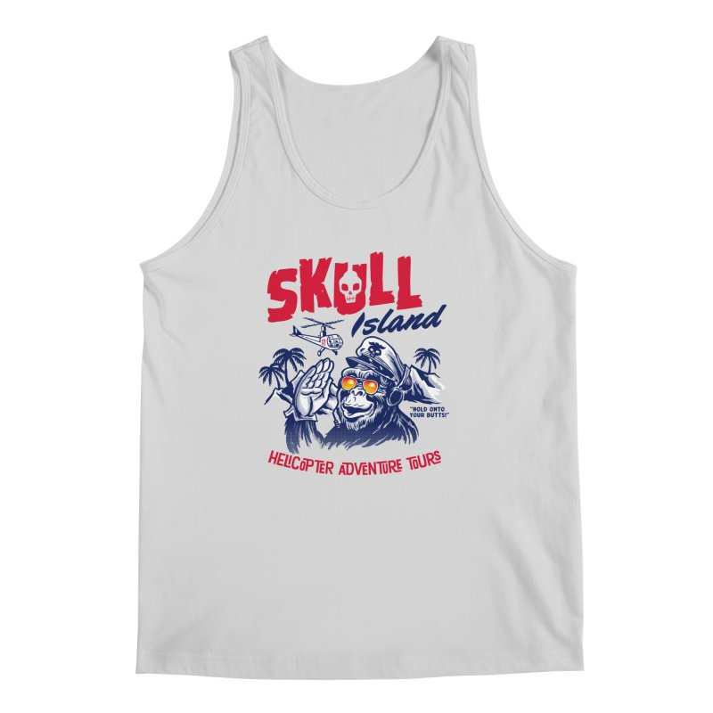 Skull Island Helicopter Adventure Tours Men's Tank by Gimetzco's Artist Shop