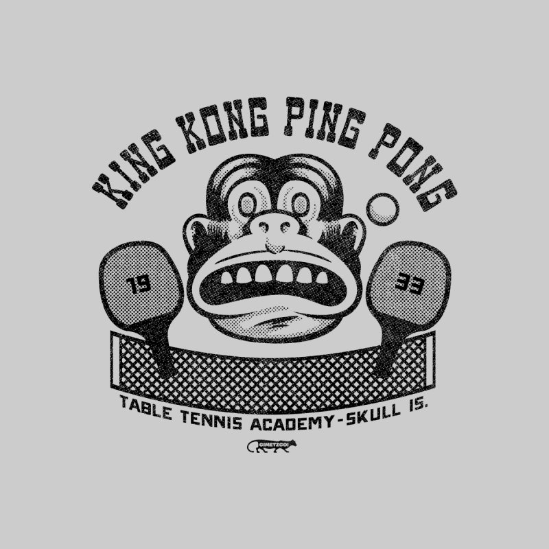 King Kong Ping Pong Home Tapestry by Gimetzco's Damaged Goods