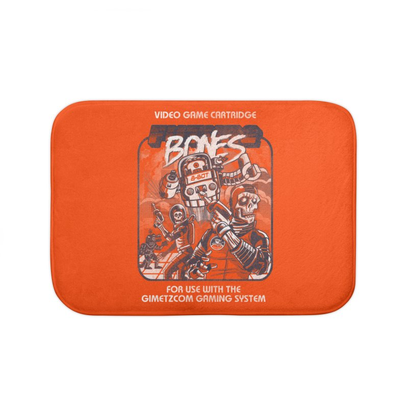 Future Bones Home Bath Mat by Gimetzco's Artist Shop