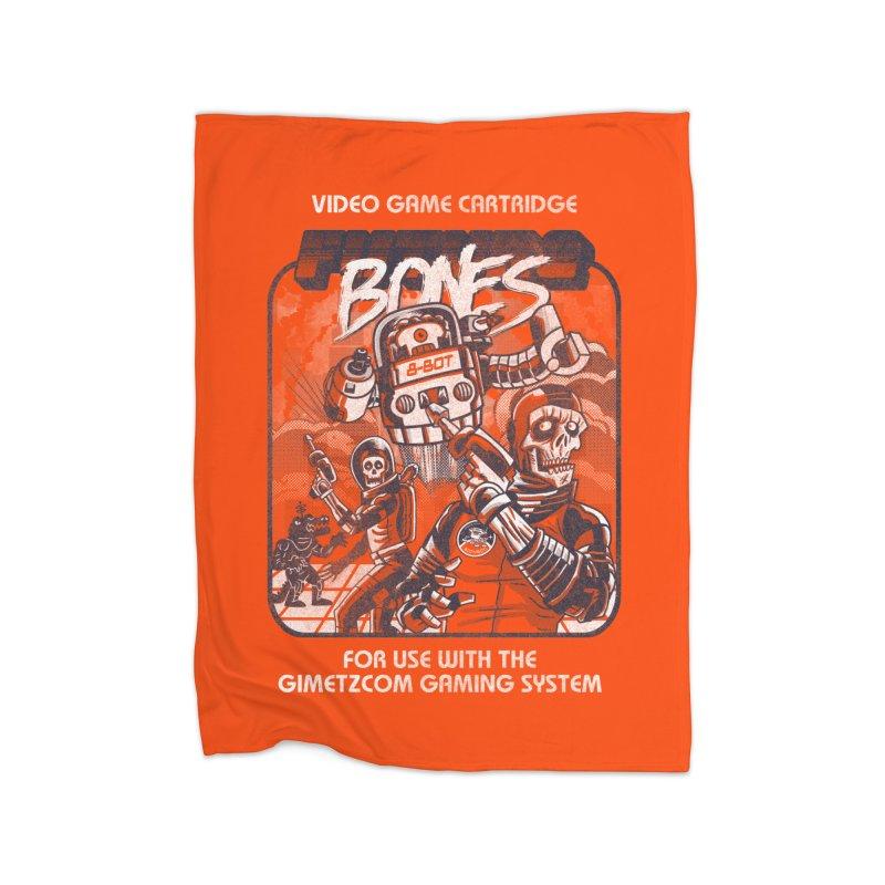 Future Bones Home Blanket by Gimetzco's Damaged Goods