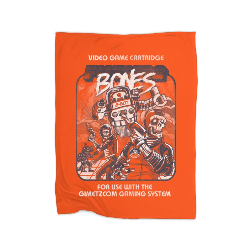 Future Bones Home Blanket by Gimetzco's Damaged Goods