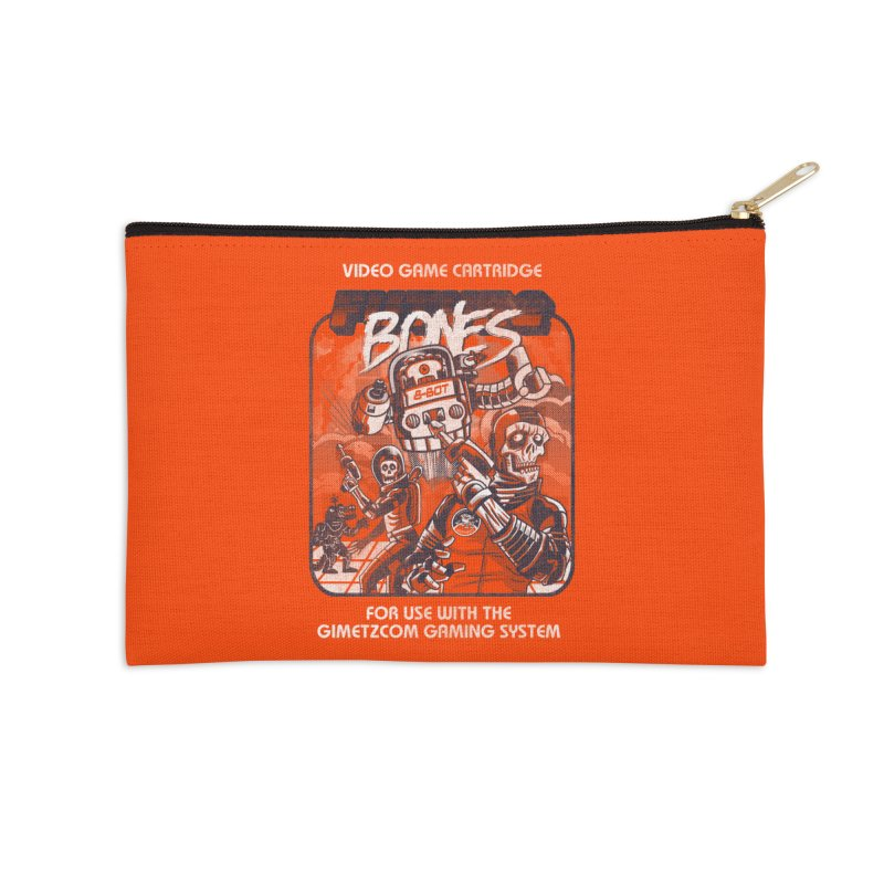 Future Bones Accessories Zip Pouch by Gimetzco's Damaged Goods
